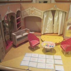 Doll Salon Chair Colorful Accent Chairs Barbie 1963 Fashion Shop Vintage Mattel 817 Modeling