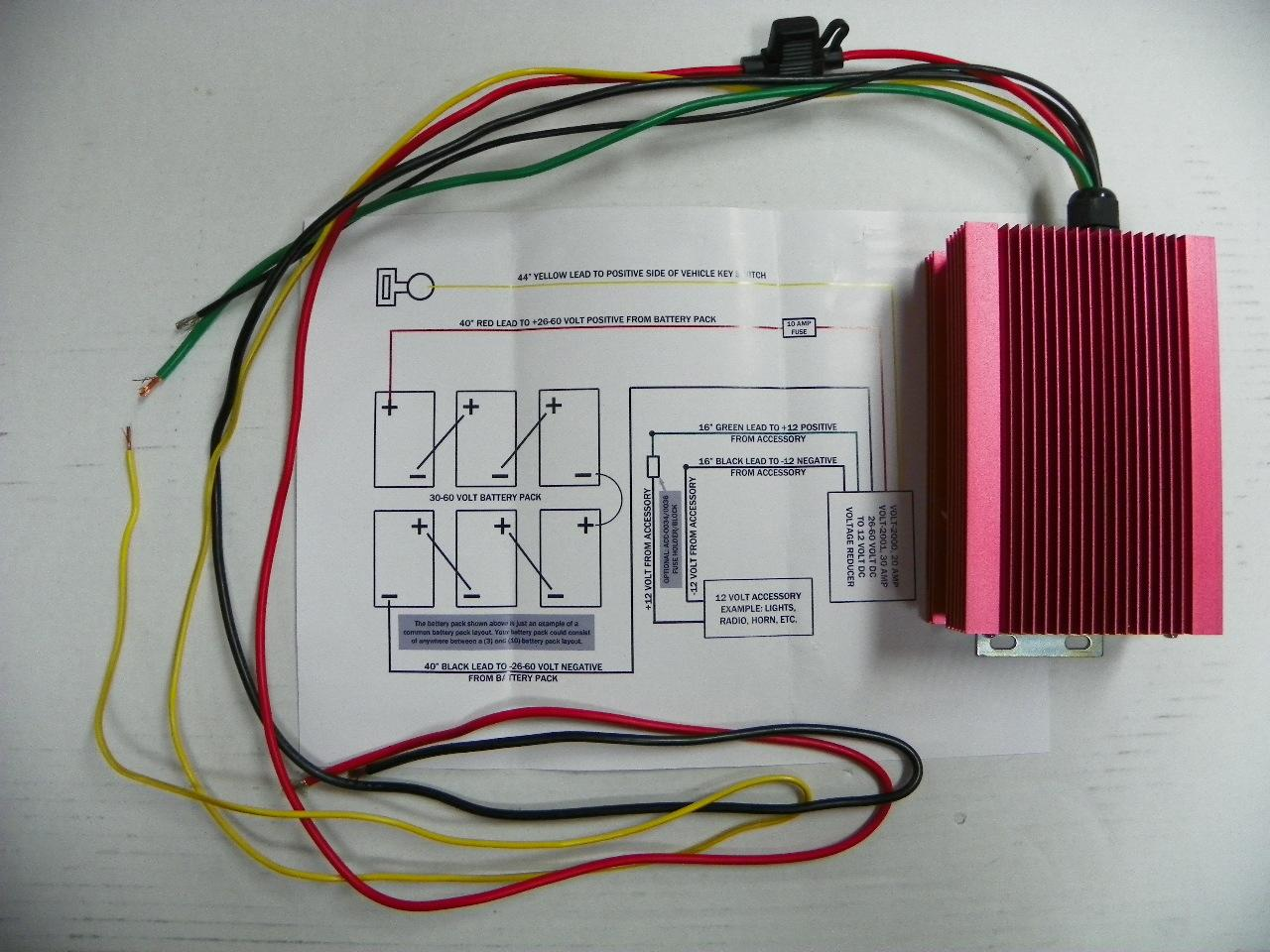 48 volt golf cart battery wiring diagram eukaryotic animal cell reducer get free image about