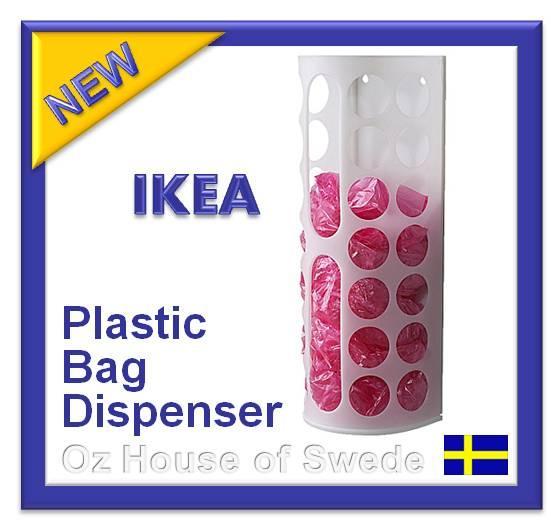 Ikea Plastic BAG Dispenser Kitchen Bags Storage Holder