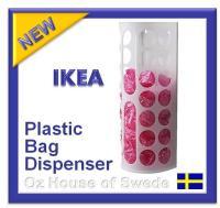 Ikea Plastic BAG Dispenser Kitchen Bags Storage Holder ...