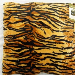 Tiger Print Chair Marrakech Swing New Cushion Covers Animal Faux Fur Leopard
