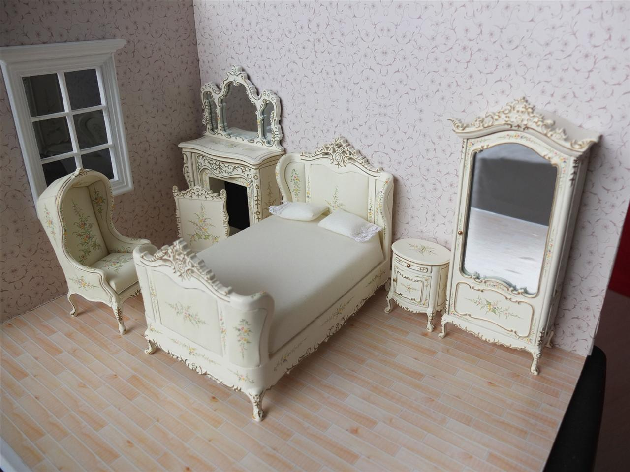 bedroom chair on ebay copa beach chairs target bespaq dollhouse miniature french furniture set