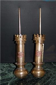 Pair Antique Style Brass Titanic White Star Line Wall ...