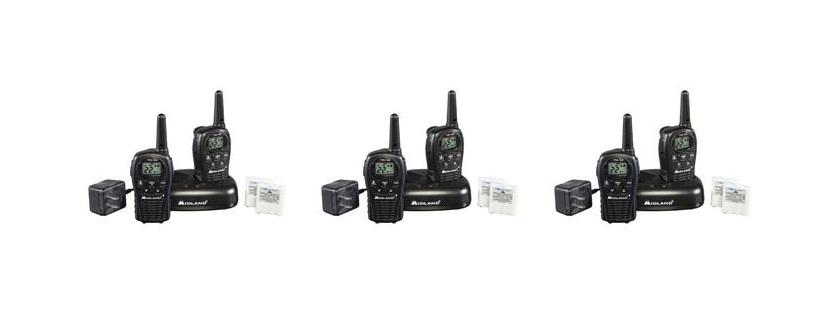 Midland LXT500VP3 Two-Way Radios FRS/GMRS Walkie Talkies