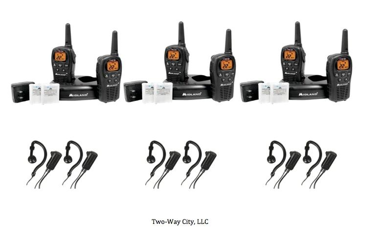Midland LXT500VP3 2 Way Radios FRS/GMRS Up to 24-Miles w