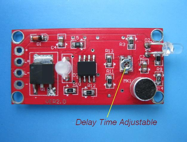 Voiceactivated Delayed Light Switch Circuit 1 Basiccircuit