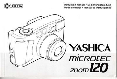 Yashica Microtec Zoom 120 35mm Film Camera Original