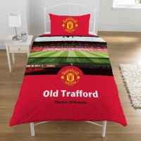 Manchester United FC Duvet Cover 'Old Trafford' Football ...