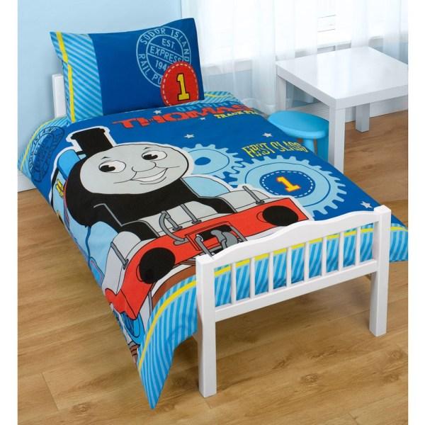 Thomas & Friends Junior Bed Duvet Set Bundle 4 In 1