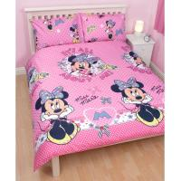 MINNIE MOUSE BEDDING, DUVET COVERS & BEDROOM ACCESSORIES ...
