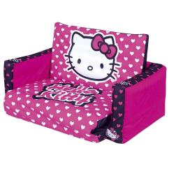 Tween Flip Sofa Modern Living Room Hello Kitty Couch Bed | Roole