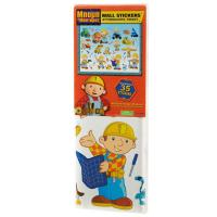 BOB THE BUILDER 35 PIECE LARGE WALL STICKERS SET NEW ...