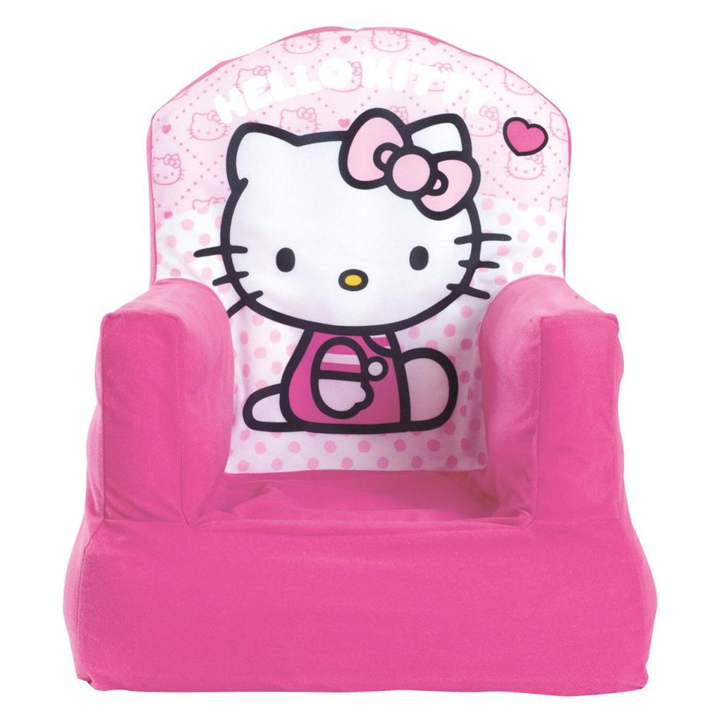 hello kitty desk chair brown leather dining room chairs cosy brand new girls kids furniture ebay