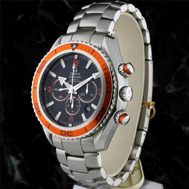 Imagini pentru OMEGA MEN'S 2218.50.00 SEAMASTER PLANET OCEAN AUTOMATIC CHRONOMETER CHRONOGRAPH WATCH
