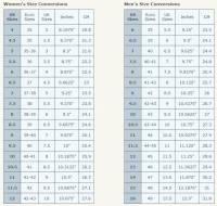 polo ralph lauren shoe size chart