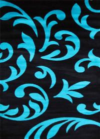 5903 Turquoise Gray Black Brown 5x7, 8x10 Area rugs Carpet ...