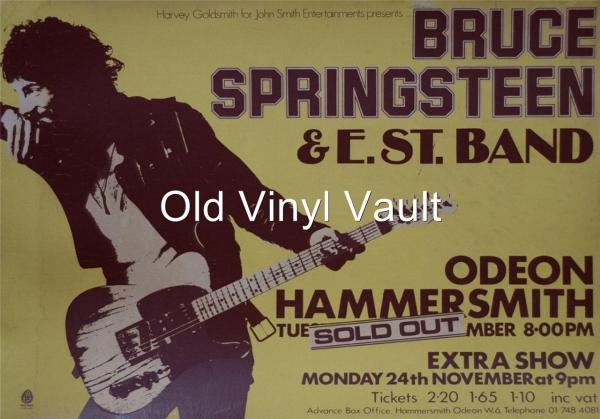 Bruce Springsteen 1975 Hammersmith Odeon