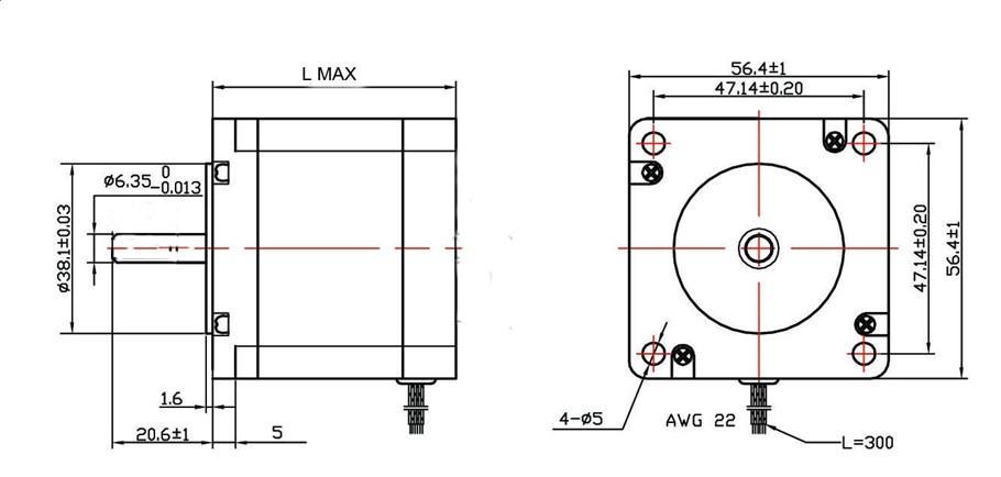tb6560 6 wire diagram