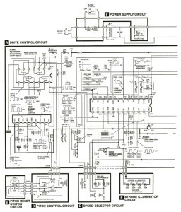 Technics SL-1200M3D 1200 M3D Turntable Service Manual