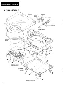 Pioneer PL-570 Turntable Owners Instruction Service Manual
