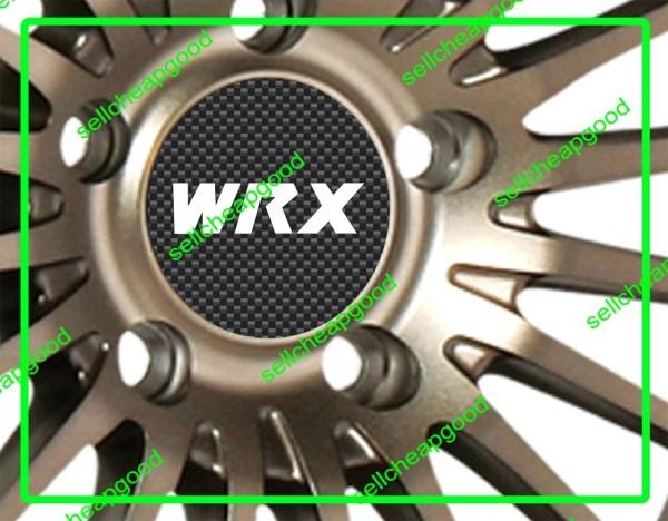 Subaru Wrx Alloy Wheel Rim Hub Center Cap Cover Decals