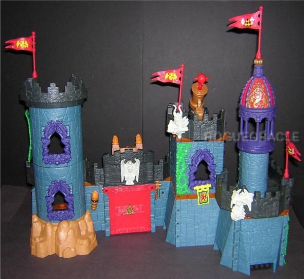 Imaginext Battle Castle Playset 58 Piece Set Great