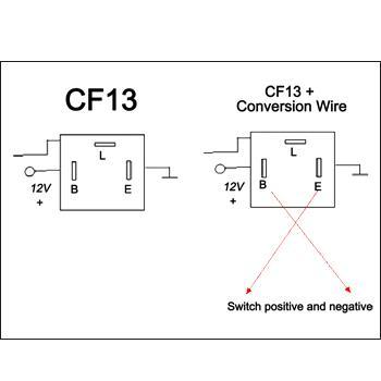 3-Pin Car Flasher Relay Fix LED Turn Signal Light Hyper