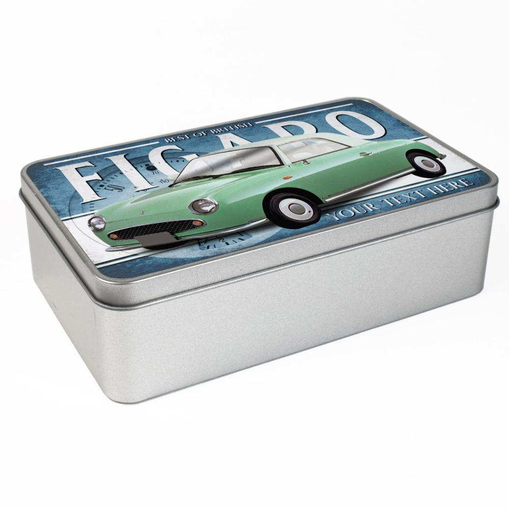 medium resolution of personalised nissan figaro green car tin classic retro storage box dad gift cl41