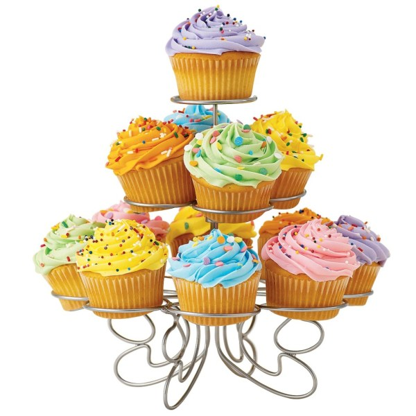 Wilton Fancy Wire Birthday Cupcakes And Stand