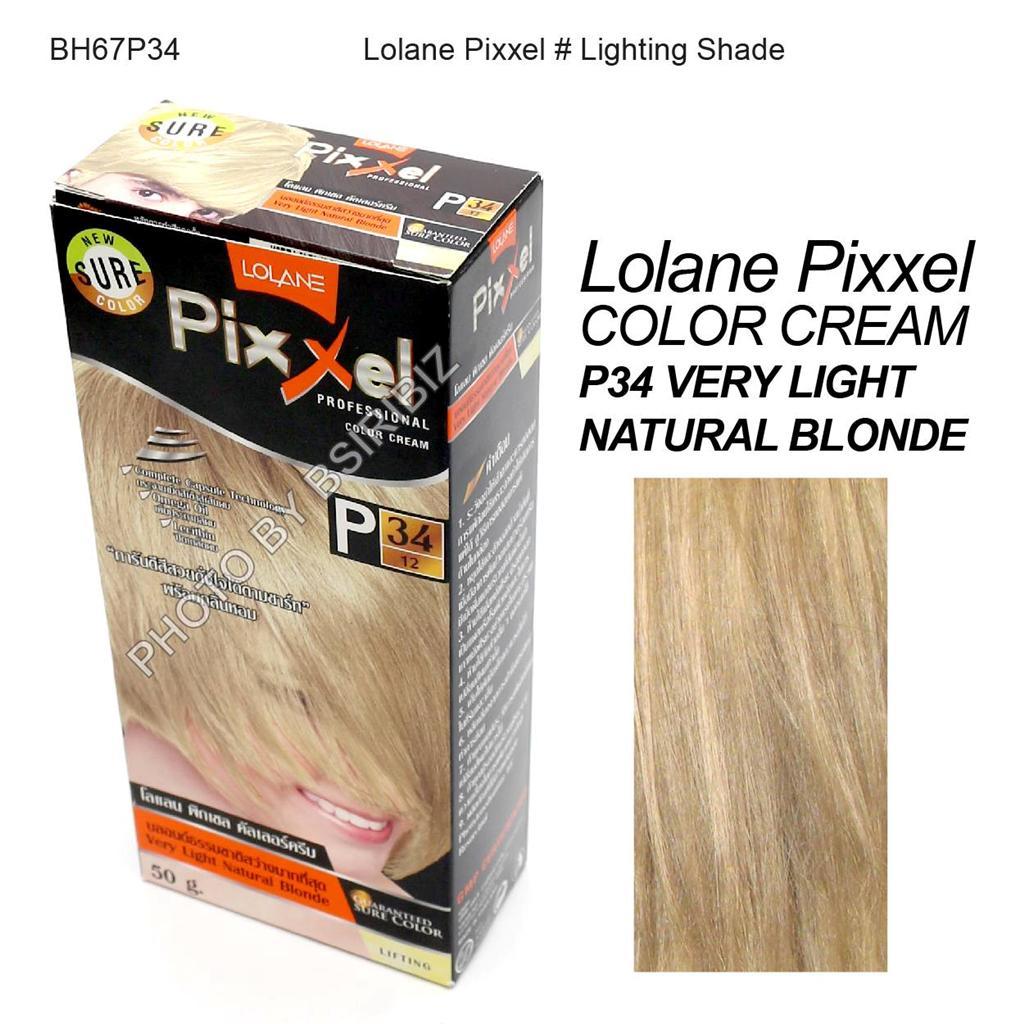 Lolane Pixxel Hair Permanent Dye Color Cream Various
