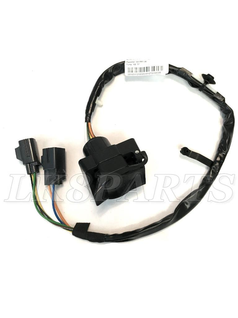 hight resolution of details about land rover lr4 14 16 towing tow trailer electrics wiring harness kit genuine new