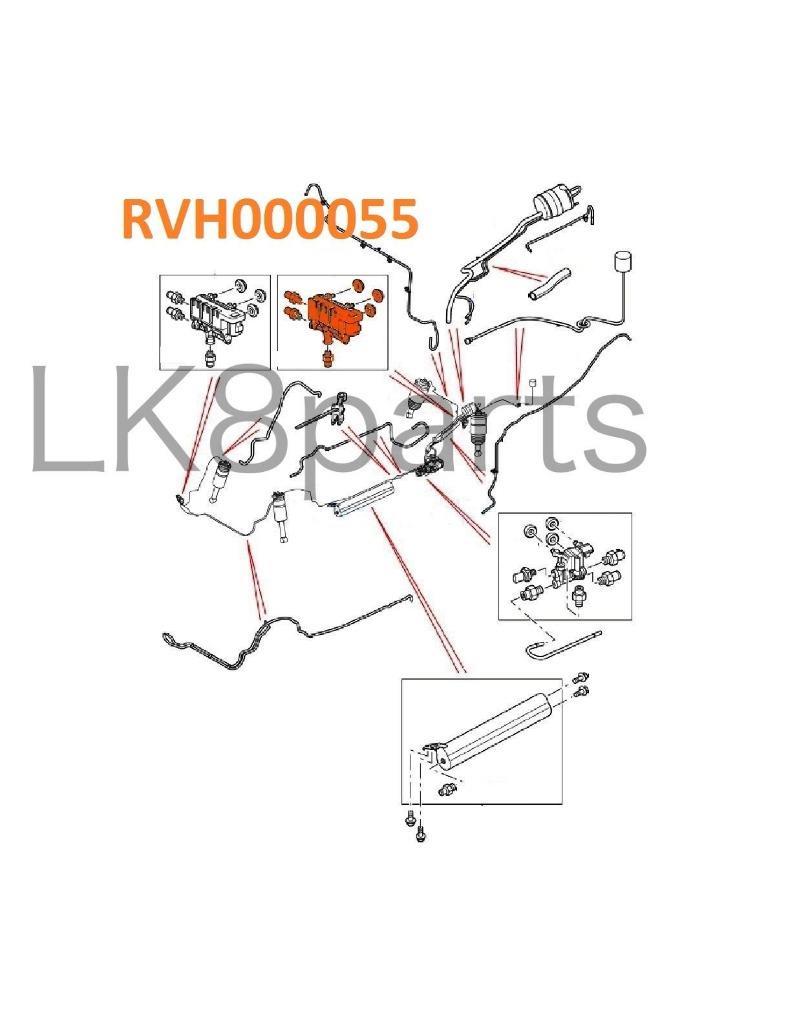 RANGE ROVER SPORT LR3 LR4 REAR AIR SUSPENSION TRANSFER