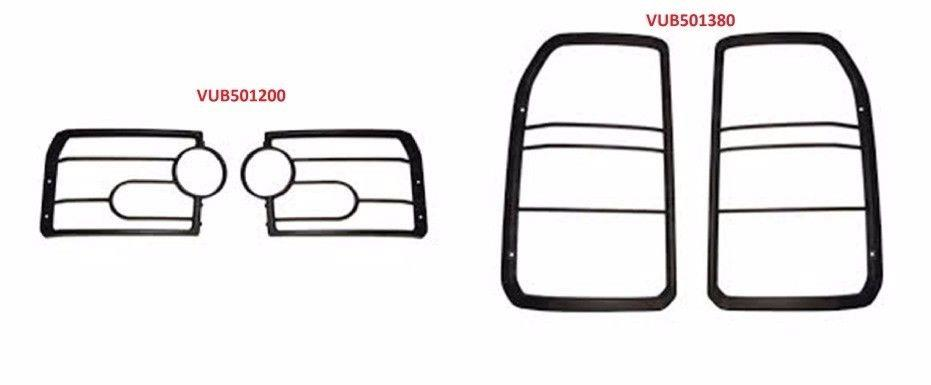 LAND ROVER LR3 / DISCOVERY 3 FRONT & REAR LAMP GUARD