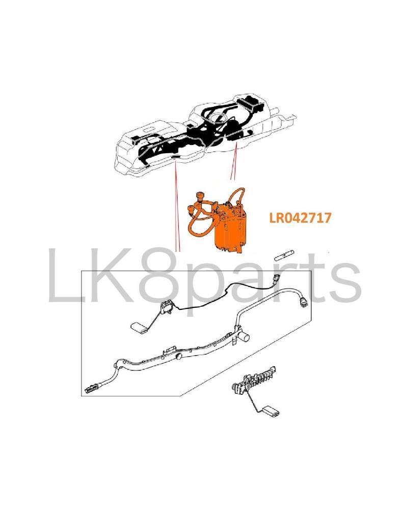 LAND ROVER LR3 LR4 RANGE SPORT FUEL PUMP & SENDER DIESEL