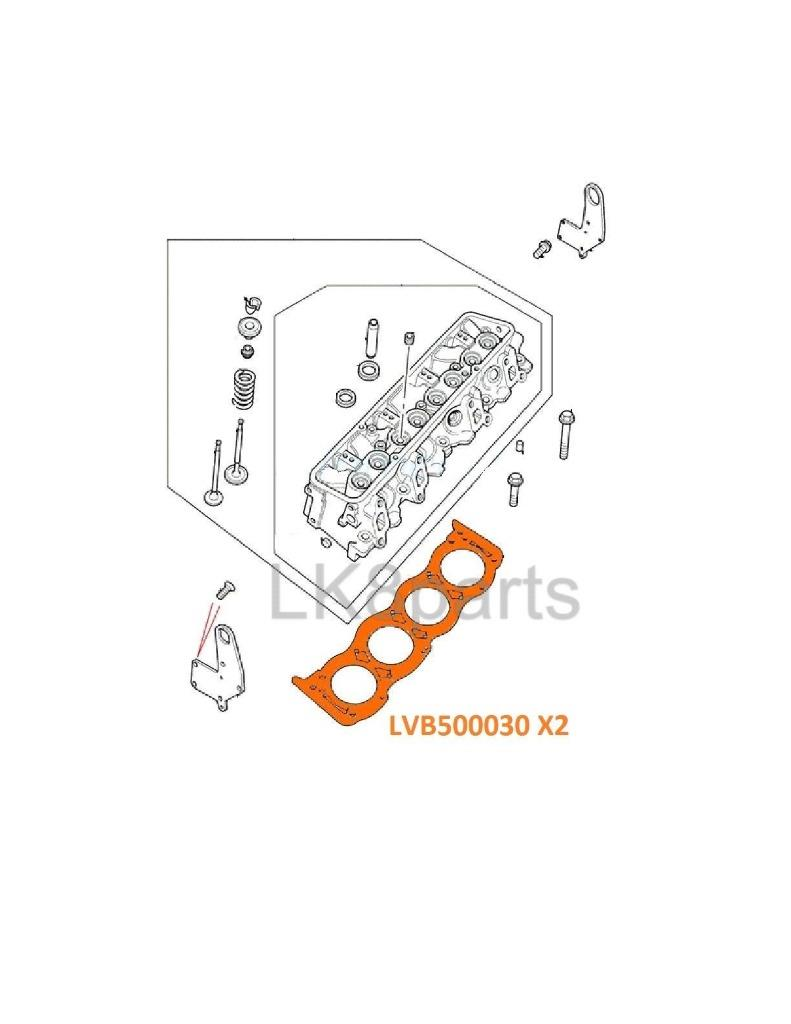 LAND ROVER DISCOVERY RANGE P38 RR CLASSIC CYLINDER HEAD