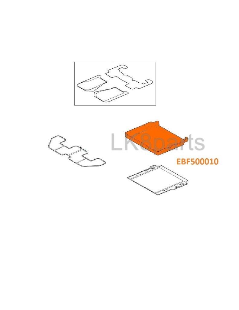 LAND ROVER LR3 & LR4 RUBBER CARGO LOAD COMPARTMENT MAT