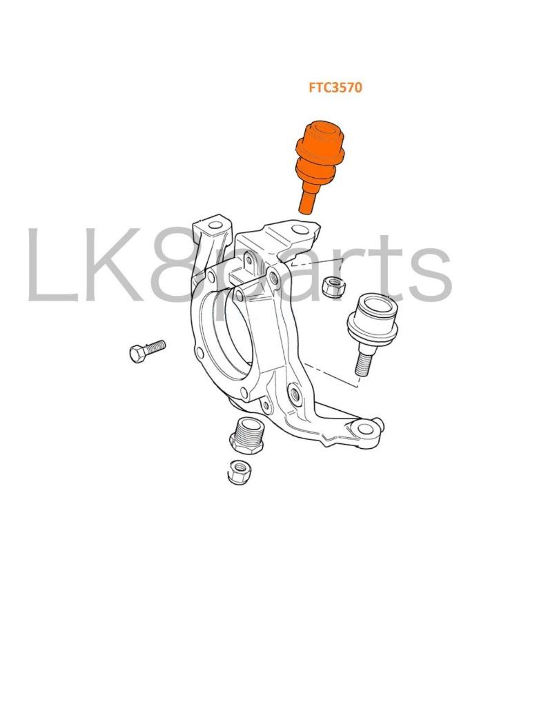 LAND ROVER DISCOVERY 2 1999-2004 UPPER FRONT SUSPENSION