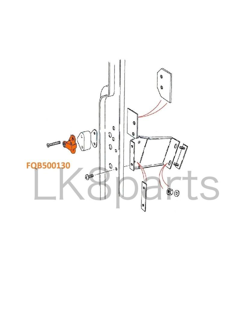 Land Rover Defender 90 110 130 Door Striker Latch Plate