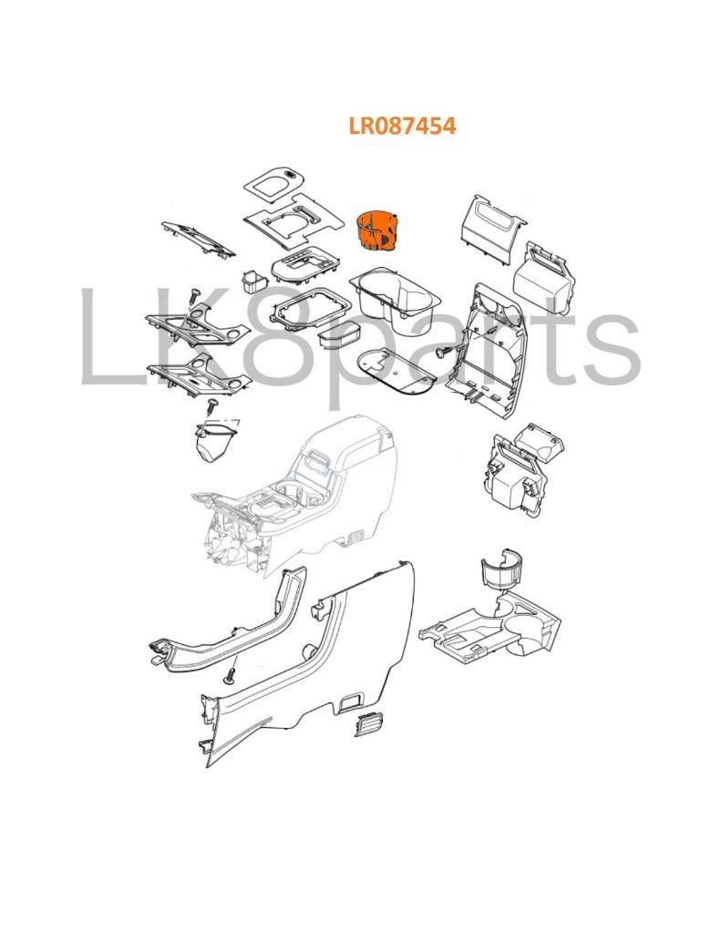 Land Rover Range Rover Range Sport LR3 LR4 Cup Holder