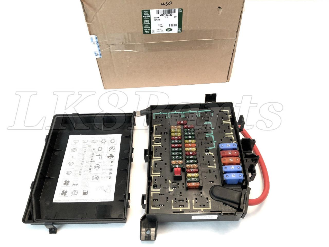 hight resolution of we have a new genuine fuse relay box fits range land rover range rover p38