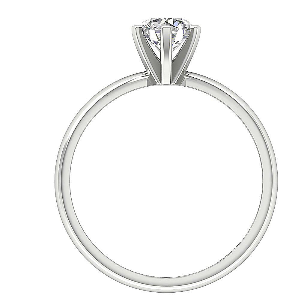 I1 G 1 00 Ct Natural Diamond Solitaire Engagemnt Ring