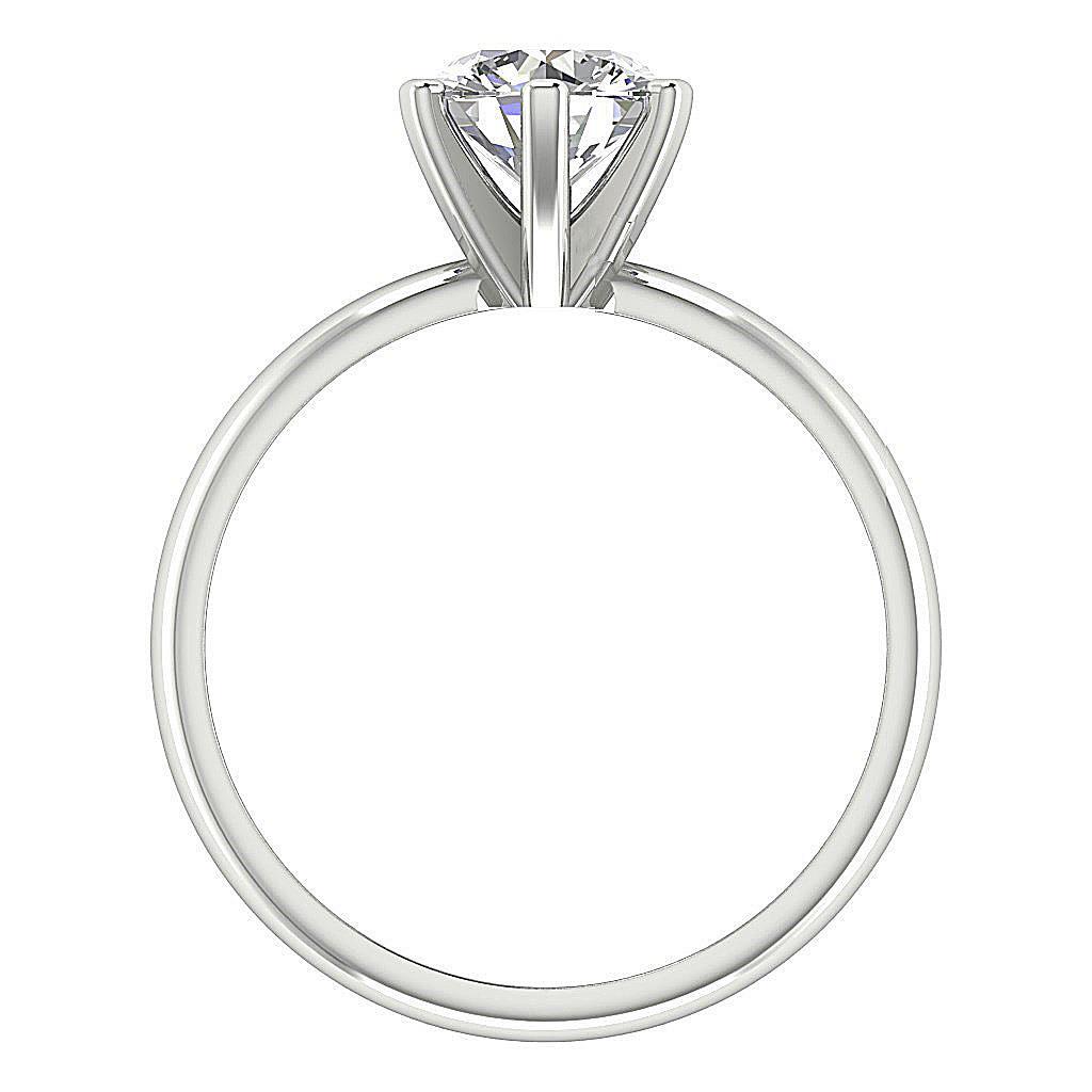 1 01 Ct Prong Set Round Diamond Jewelry Platinum Solitaire