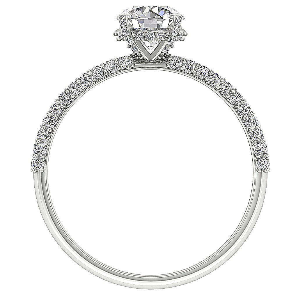 Solitaire Engagement Ring I1 G 1 80 Ct Natural Diamond
