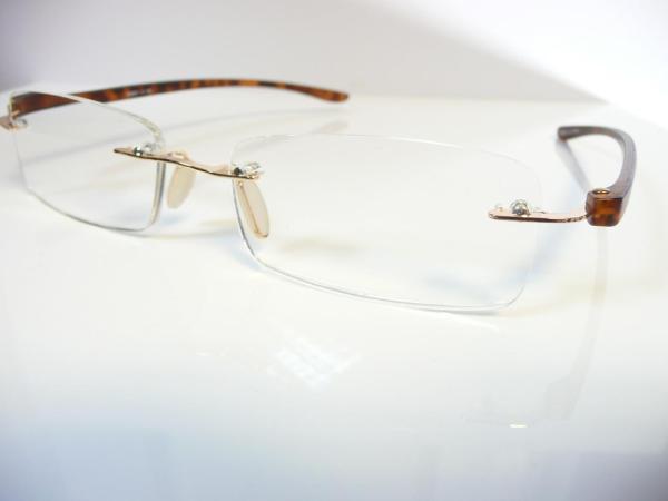 Mens Rimless Reading Glasses 1 1.25 1.5 1.75 2 2.25 2.5 2.75 3.5 S203