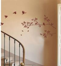 tree branch and birds wall stick art/Vinyl Wall Decals ...