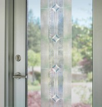 12x83 Translucent Etched Glass Decorative Window Film ...