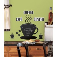LARGE Coffee Kitchen Wall Quote Stickers Cafe Vinyl Art ...