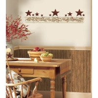 New PRIMITIVE ARCH WALL DECALS Country Kitchen Stars ...