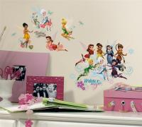 New DISNEY FAIRIES SECRET OF THE WINGS WALL DECALS ...