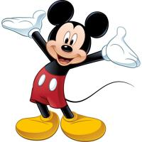 New Giant MICKEY MOUSE WALL DECAL Disney Bedroom Stickers ...